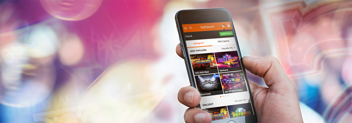 Betsson mobile casino – Biggest in the world!