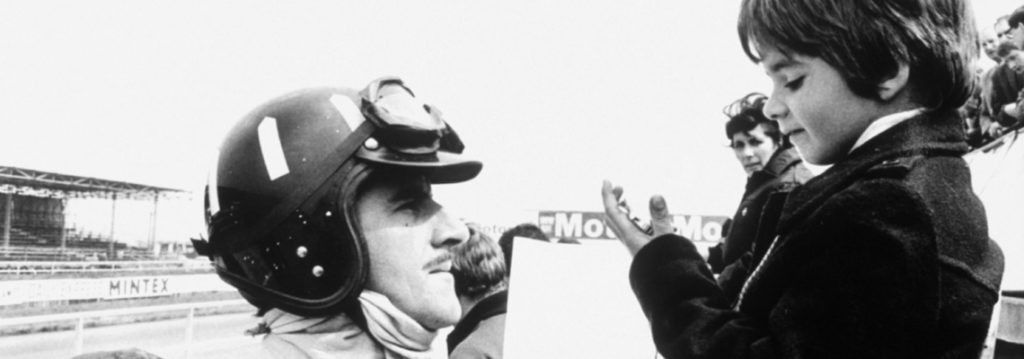 Damon und Graham Hill in der F 1