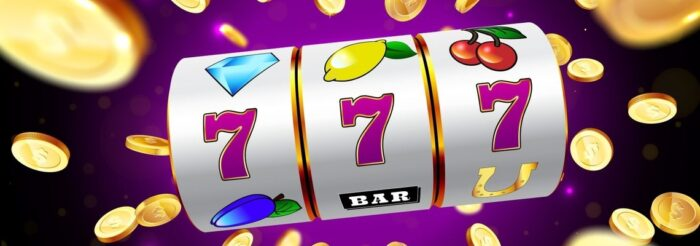 Online Reels of a Slot Machine showing a win